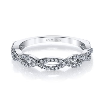 MARS 27030 Stackable Ring, 0.24 Ctw.