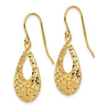 Leslie's 14K Shepherd Hook Earrings