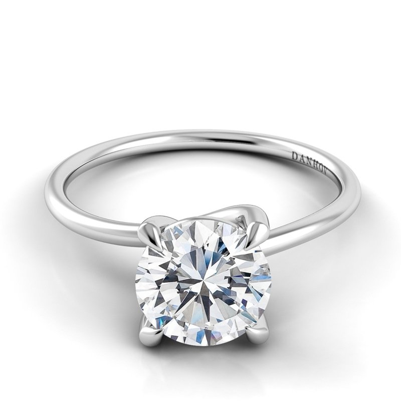 Danhov Eleganza Single Shank Engagement Ring