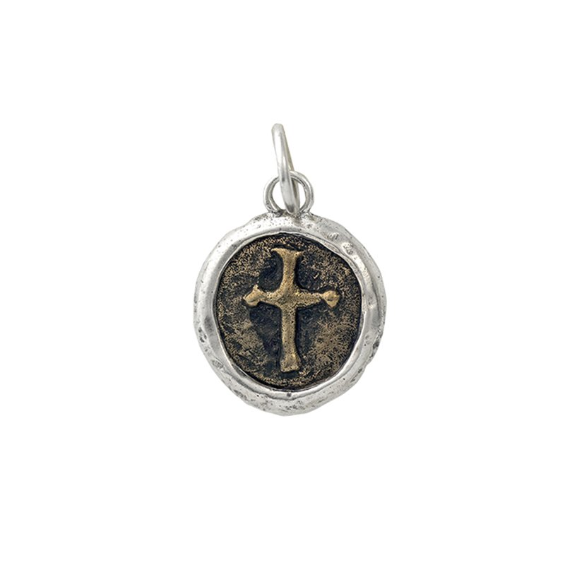 Waxing Poetic Hero'S Cross Charm