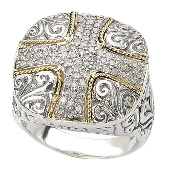Ladies Fashion Cross Ring