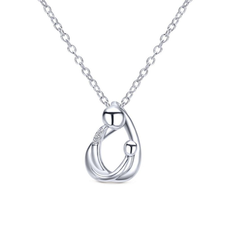 Gabriel Fashion Silver Fashion Necklace