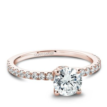 Noam Carver Modern Engagement Ring B022-01RA