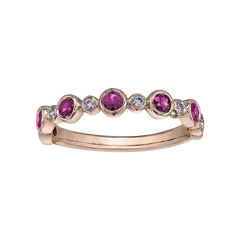 Lasting Treasures™ Pink Sapphire Ladies Ring
