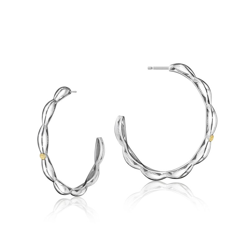 Tacori Fashion Crescent Contour Hoop Earrings