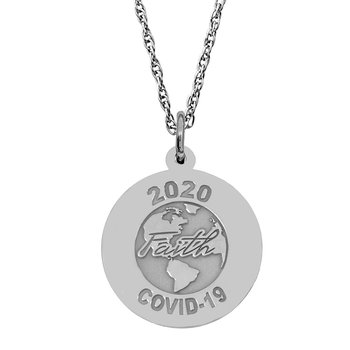 Covid-19 World Faith Necklace Set
