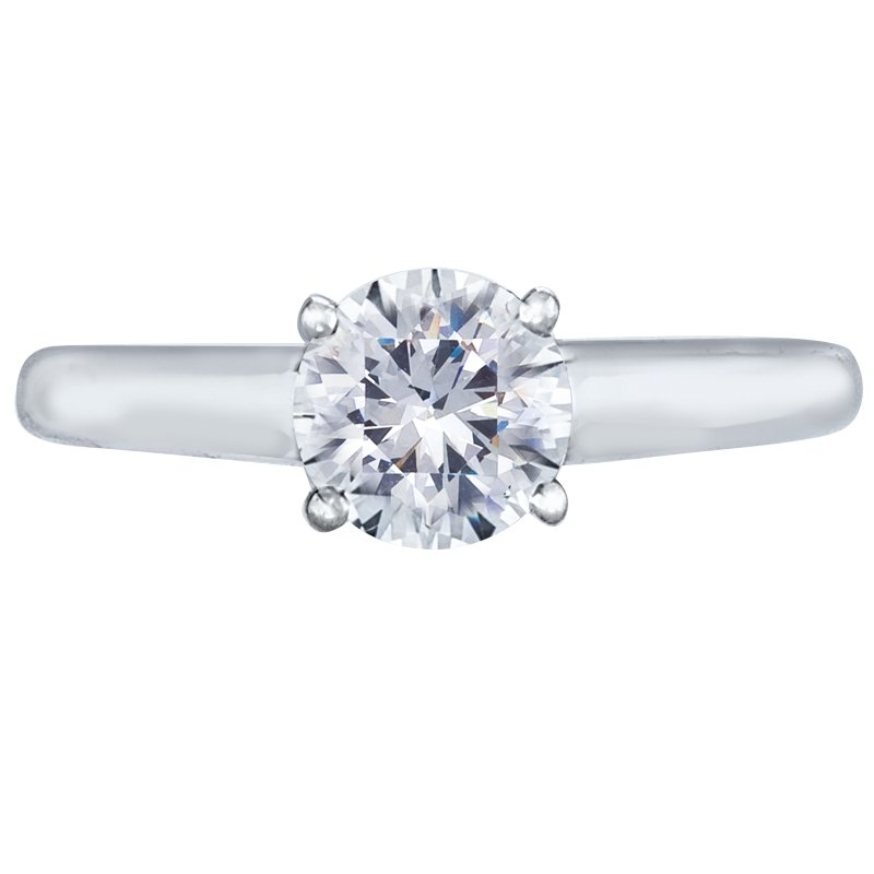 Mark Patterson Solitaire Engagement Ring