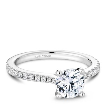 Noam Carver Modern Engagement Ring R046-01A