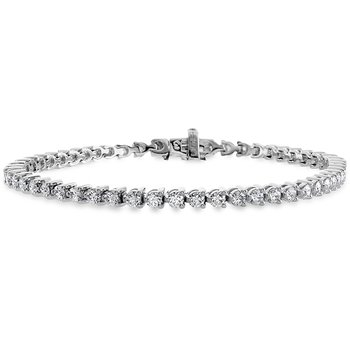 12 ctw. Temptation Three-Prong Bracelet