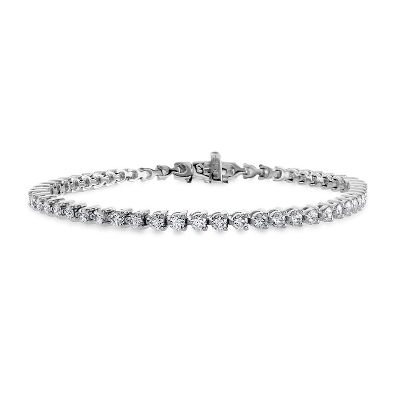 Hearts on Fire 12 ctw. Temptation Three-Prong Bracelet