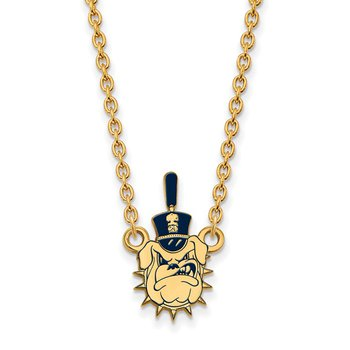 Gold-Plated Sterling Silver The Citadel NCAA Necklace
