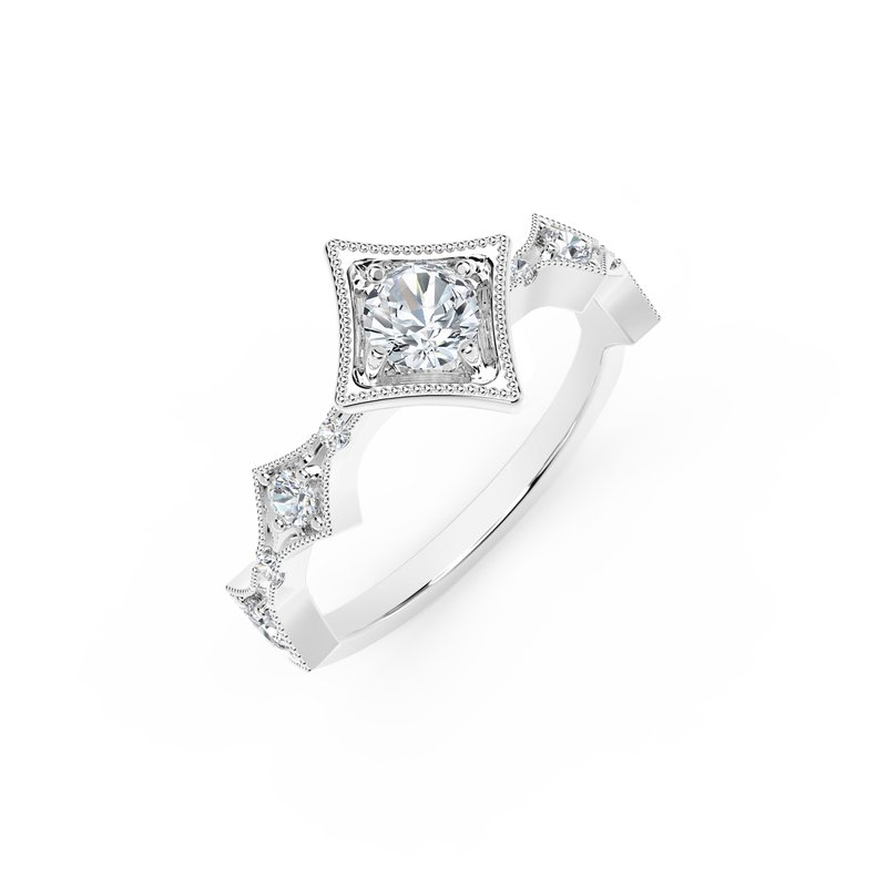 Forevermark Black Label The Forevermark Tribute™ Collection Modern Diamond Ring