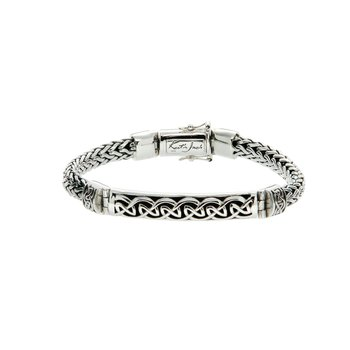 Dragon Weave Eternity Bar Bracelet