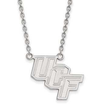 Sterling Silver University of Central Florida NCAA Necklace