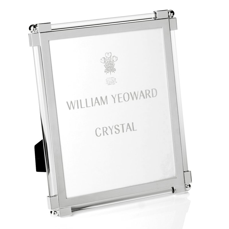"William Yeoward Classic Glass Clear 8"" x 10"""