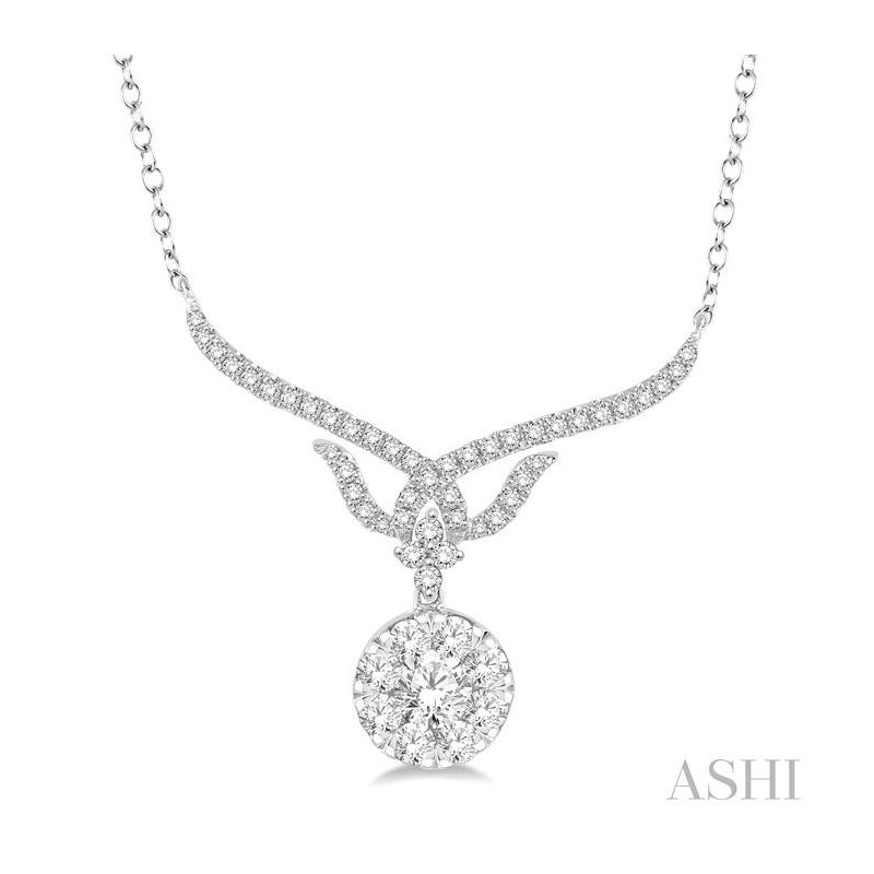 Barclay's Signature Collection lovebright diamond necklace