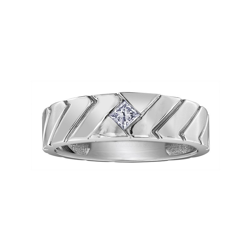 I Am Canadian Diamond Gents Ring