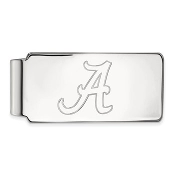 Gold University of Alabama NCAA Money Clip