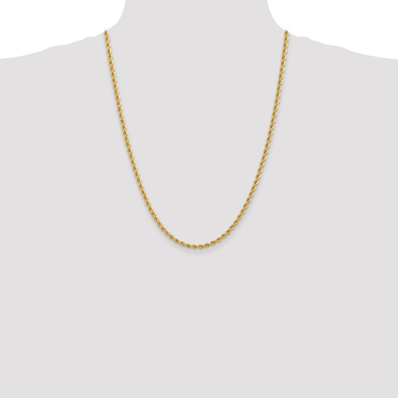Quality Gold 14k 3.65mm Regular Rope Chain