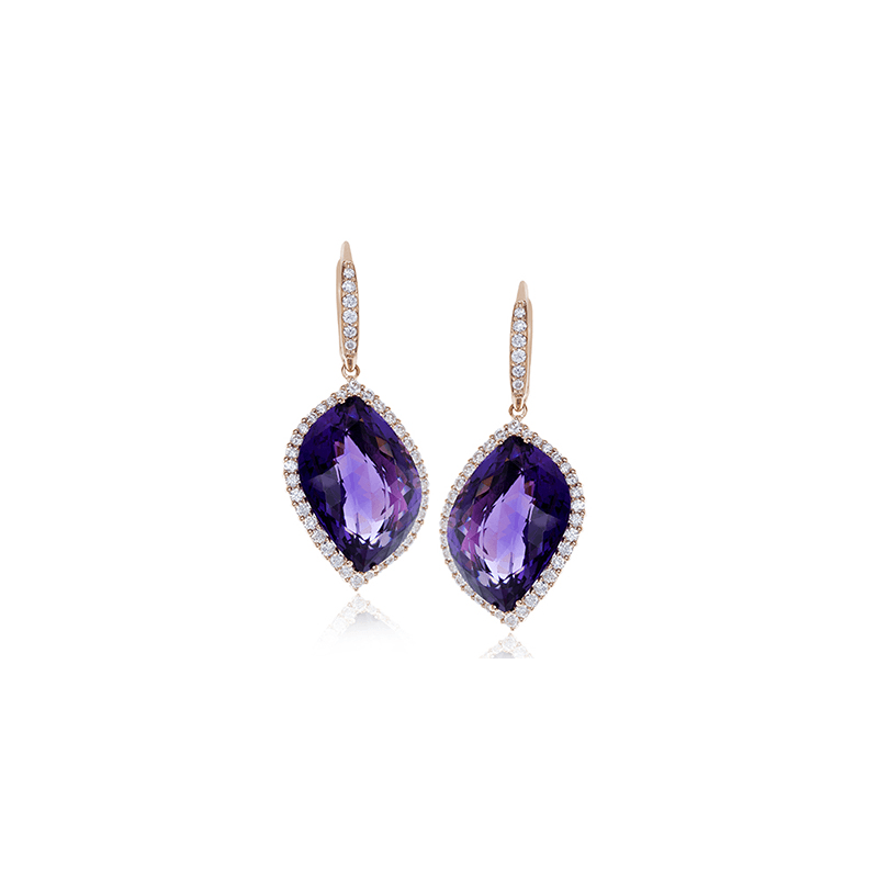 Zeghani ZE537 COLOR EARRING