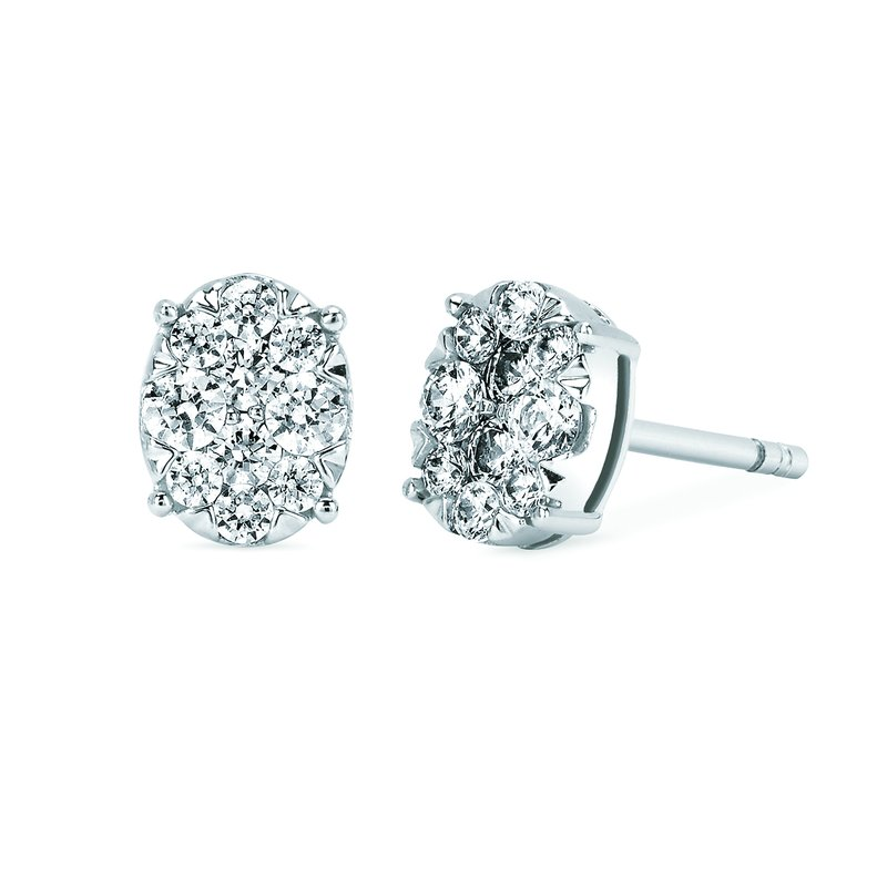 Classic Selection Earrings Rd V 0.52