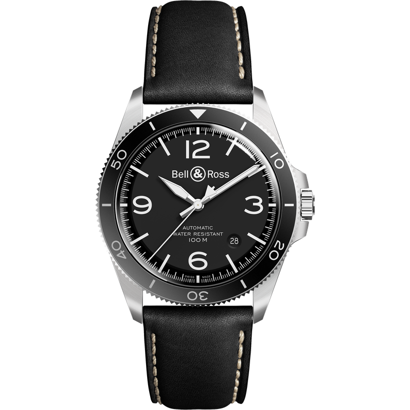Bell & Ross BRV2-94 Black Steel