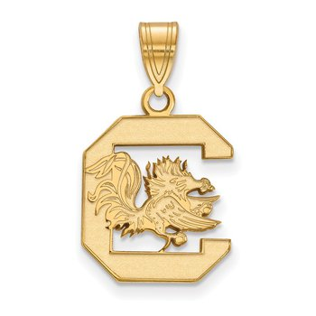 Gold University of South Carolina NCAA Pendant