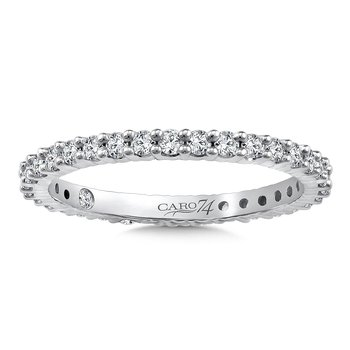 Eternity Band (Size 6.5) in 14K White Gold (0.56ct. tw.)