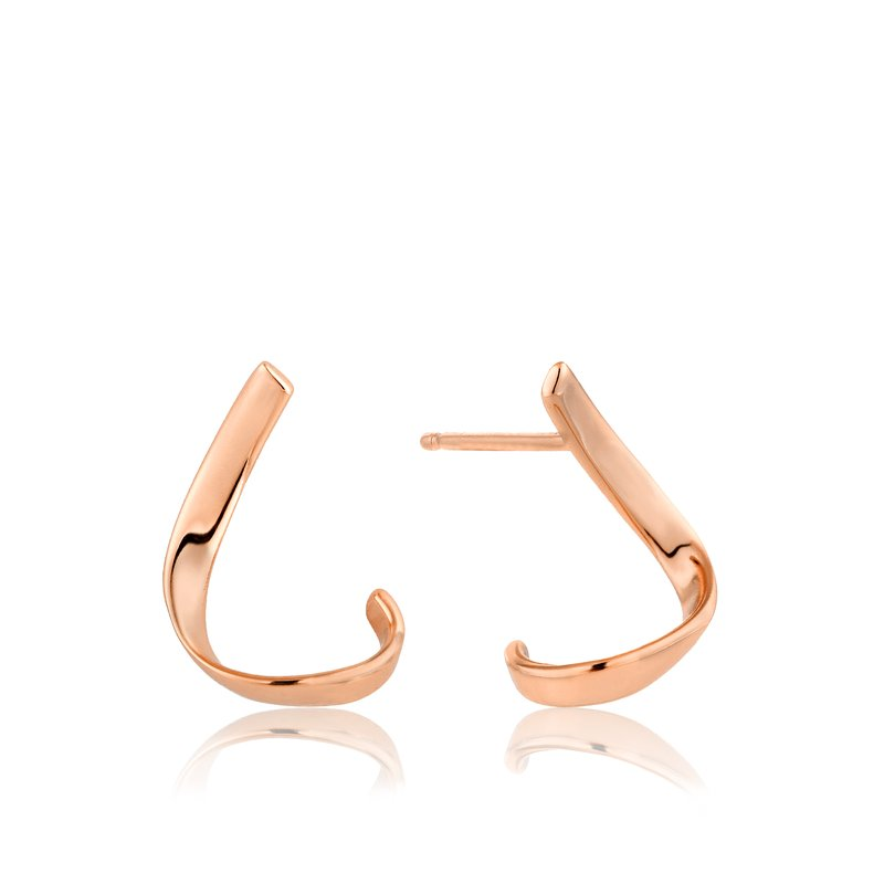 Ania Haie Twist Stud Earrings