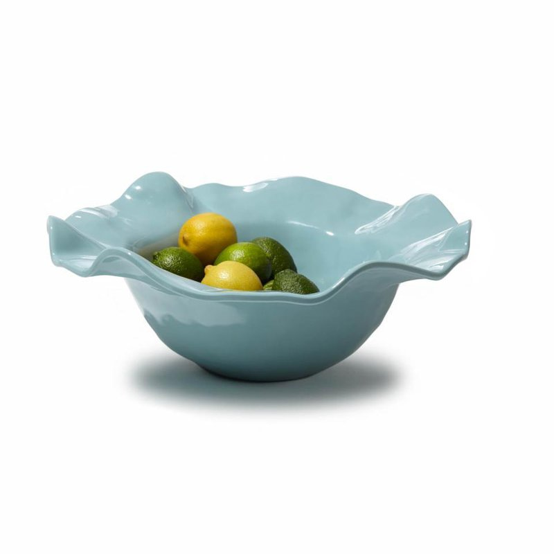 Beatriz Ball Havana bowl (large) aqua