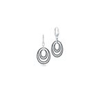 Roberto Coin Drop Earrings With Diamonds