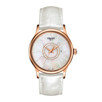 TISSOT ROSE DREAM LADY 18K GOLD