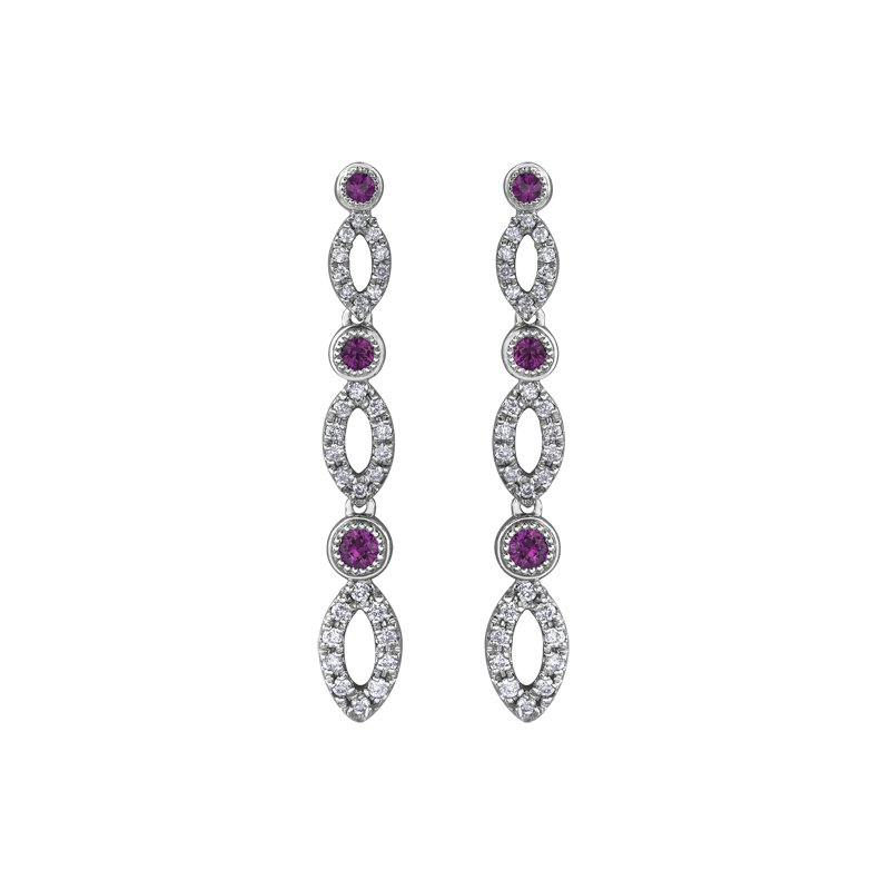 Timeless Beauty Ruby Earrings