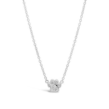 Classic Paw Diamond Necklace
