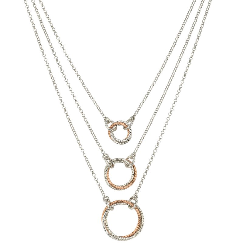 Frederic Duclos 3 Tier Necklace