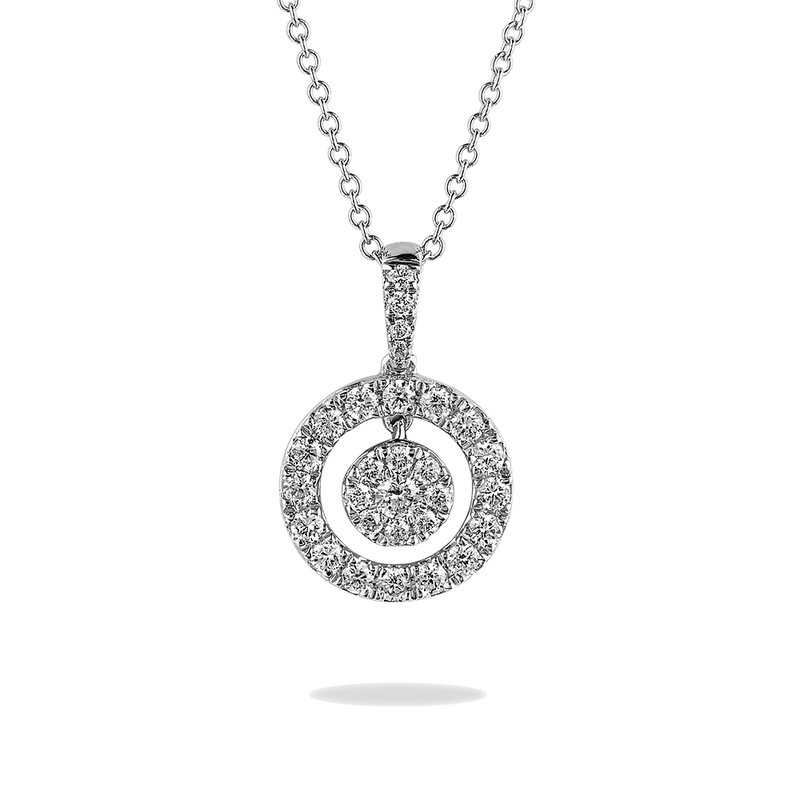 MARS Jewelry MARS 26385 Fashion Necklace, 0.36 Ctw.