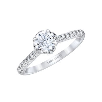 Diamond Engagement Ring by Love Story