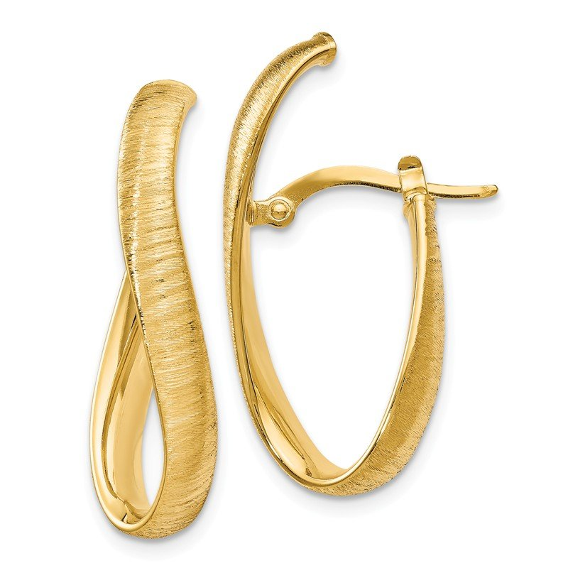Leslie's Leslie's 14K Textured Earrings