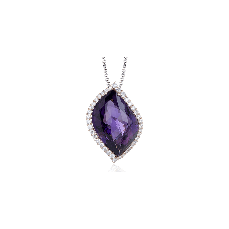 Zeghani ZP741 COLOR PENDANT