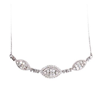 14K 0.90Ct Diam Necklace