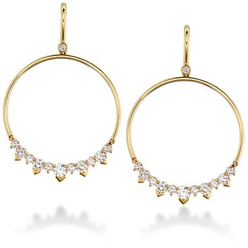 2.4 ctw. Aerial Eclipse Earrings