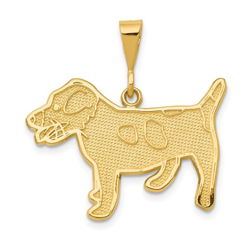 Quality Gold 14k Jack Russell Terrier Dog Pendant