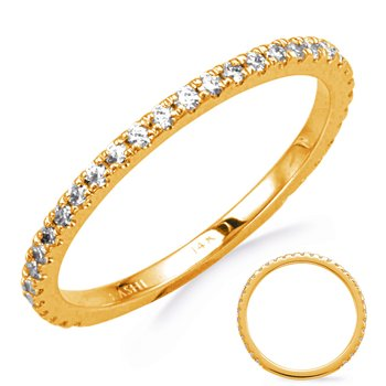 Yellow Gold Wedding Band