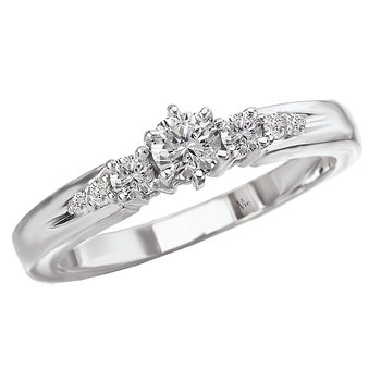 3-Stone Complete Diamond Ring