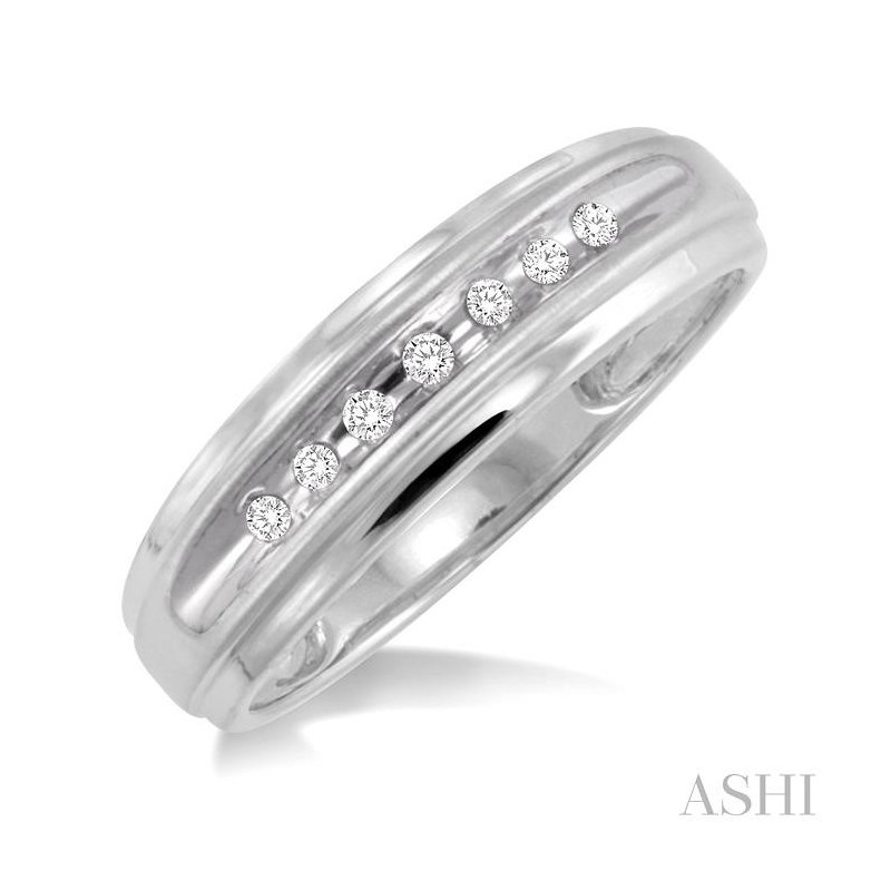 ASHI men's duo diamond ring