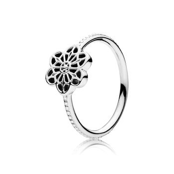 Floral Daisy Lace Ring