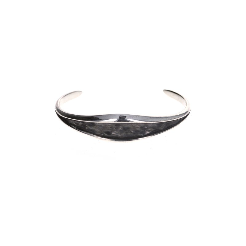 King Baby Hammered Armor Cuff