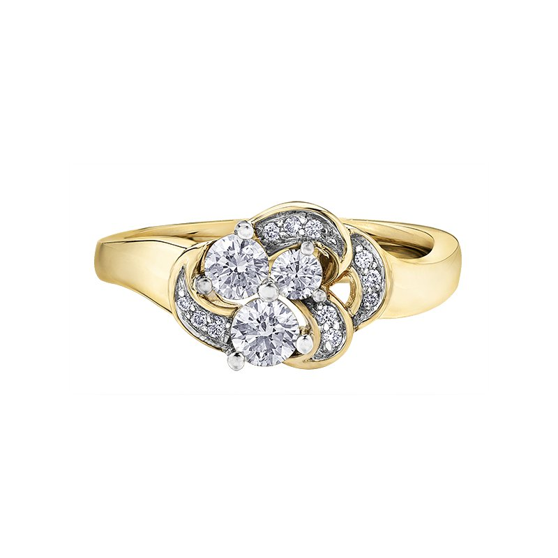Maple Leaf Diamonds Maple Leaf Diamond Ladies Ring