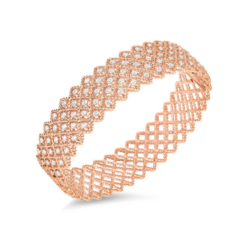 Roberto Coin  #19391 Of Five Row Diamond Bangle