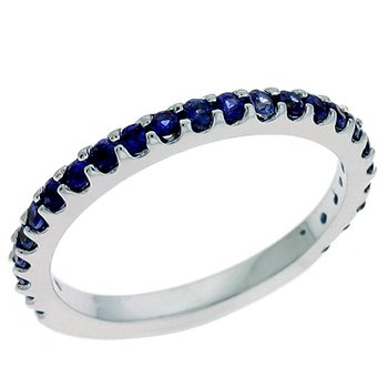 All Sapphire Eternity Band